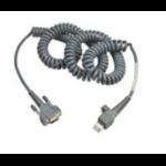 Intermec 12Ft RS232 9-Pin serial cable Grey 3.65 m D-sub 9-pin