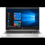 "HP ProBook 455 G6 Silver Notebook 39.6 cm (15.6"") 1920 x 1080 pixels AMD Ryzen 5 PRO 8 GB DDR4-SDRAM 256 GB SSD Wi-Fi 5 (802.11ac) Windows 10 Pro"