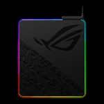 ASUS ROG Balteus Gaming Mouse Pad (NH02) 15-Zone Aura Sync, Portrait Hard Surface, USB Passthrough