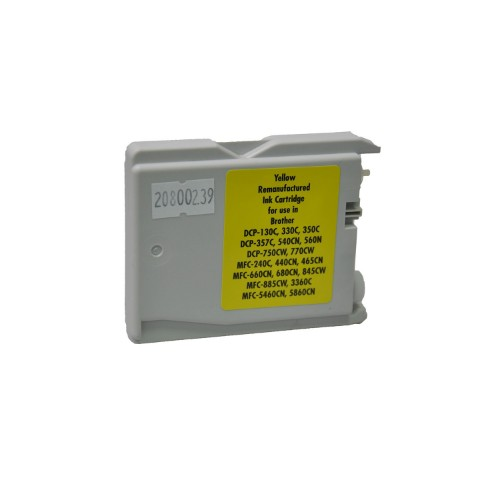 V7 BR1000Y-INK Compatible Yellow 1 pc(s)