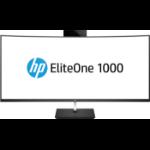 HP EliteOne 1000 G2 68,6 cm (27 Zoll) 3840 x 2160 Pixel Intel® Core™ i7 der achten Generation i7-8700 16 GB DDR4-SDRAM 512 GB SSD Schwarz All-in-One-PC