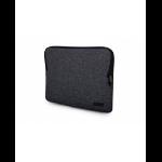"Urban Factory MSN10UF maletines para portátil 35,6 cm (14"") Funda Negro"