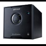 Buffalo DriveStation HD-QHU3 disk array 16 TB Desktop Black