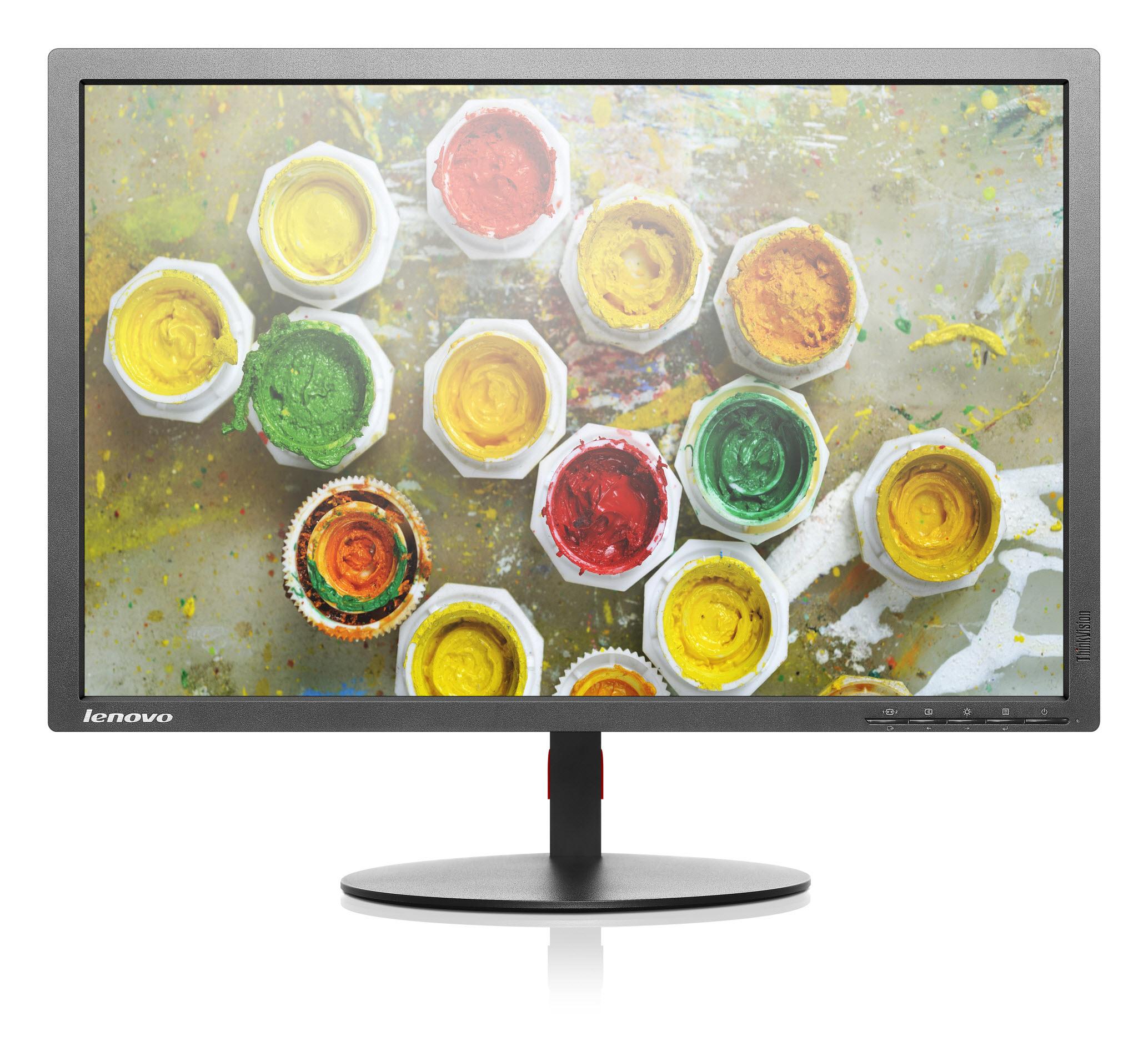 "Lenovo ThinkVision T2454p 24"" Black Full HD Matt"