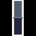 Apple MX3M2ZM/A smartwatch accessory Band Blau Nylon