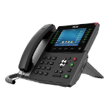 Fanvil X7C IP phone Black Wired handset LCD 20 lines Wi-Fi