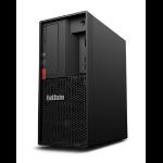 Lenovo ThinkStation P330 E-2276G Tower Intel Xeon E 16 GB DDR4-SDRAM 512 GB SSD Windows 10 Pro for Workstations Arbeitsstation Schwarz
