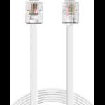 Sandberg Telephone RJ11-RJ11 10m telephony cable