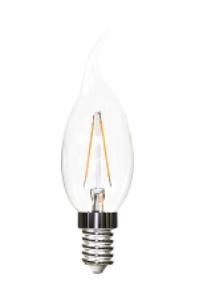 Unity Opto Technology Filament Candle D1 lámpara LED 2,9 W E14 A+
