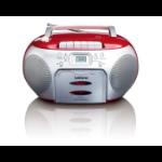 Lenco SCD-420 Portable CD player Black, Red