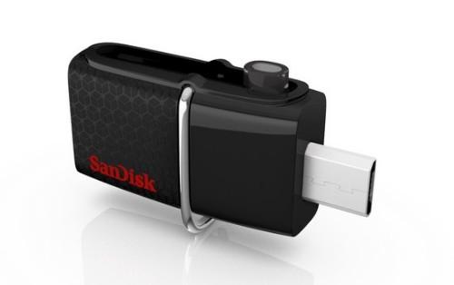 Sandisk Ultra Dual USB flash drive 128 GB USB Type-A / Micro-USB 3.2 Gen 1 (3.1 Gen 1) Black