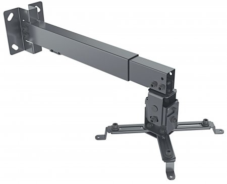 Manhattan Projector Ceiling or Wall Mount (height: 43-65cm), Max 20kg, Black