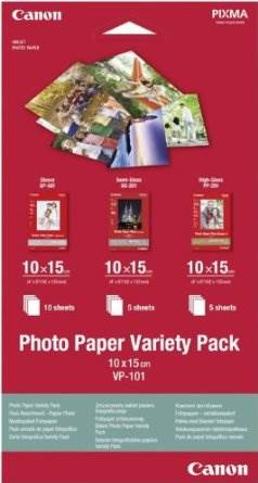 Canon Photo Paper Variety Pack papel fotográfico