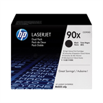 HP CE390XD (90X) Toner black, 24K pages, Pack qty 2