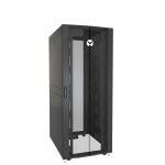 Vertiv VR3150 rack cabinet 42U Freestanding rack Black, Transparent