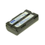 2-Power Camcorder Battery 7.2v 2200mAh