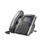 Polycom VVX 400 Wired handset 12lines LCD Black IP phone