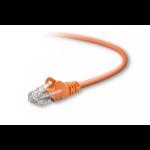 "Belkin Cat5e, 7ft, 1 x RJ-45, 1 x RJ-45, Orange networking cable 82.7"" (2.1 m)"