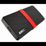 Emtec X200 256 GB Black,Red