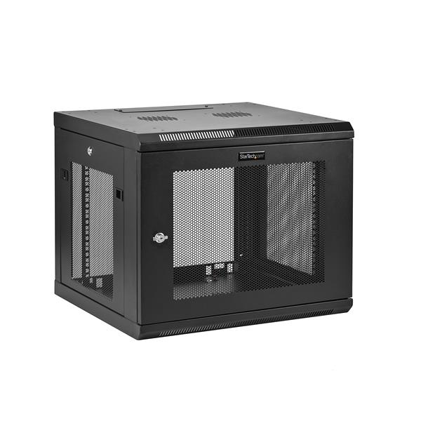 StarTech.com 9U Wall-Mount Server Rack Cabinet - Up to 20.8 in. Deep