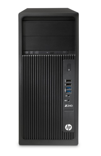 HP Z240 Tower 4.2 GHz 7th gen Intel® Core™ i7 i7-7700K Black Workstation