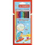 STABILO Aquacolor colour pencil 12 pc(s) Multicolour