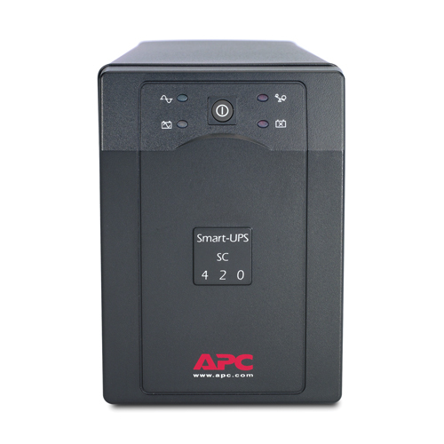 APC Smart-UPS uninterruptible power supply (UPS) Line-Interactive 420 VA 260 W 4 AC outlet(s)