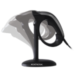 Datalogic HERON 3400 Handheld bar code reader 1D/2D CMOS Black, Silver