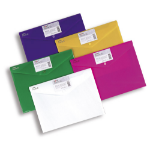 Snopake Polyfile ID - Bright Assorted, A4 Polypropylene (PP)