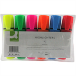 Q-CONNECT KF01909 felt pen Fine/Medium Blue,Green,Orange,Pink,Red,Yellow 6 pc(s)