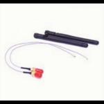 Astrotek AT-IPXSET-26 Internal Wi-Fi Antenna Kit - 2x IPX to RP-SMA wifi cable 26cm Grey+ 2x 5Ghz Antenna Bla