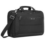 "Targus CUCT02UA15EU notebook case 39.6 cm (15.6"") Briefcase Black"