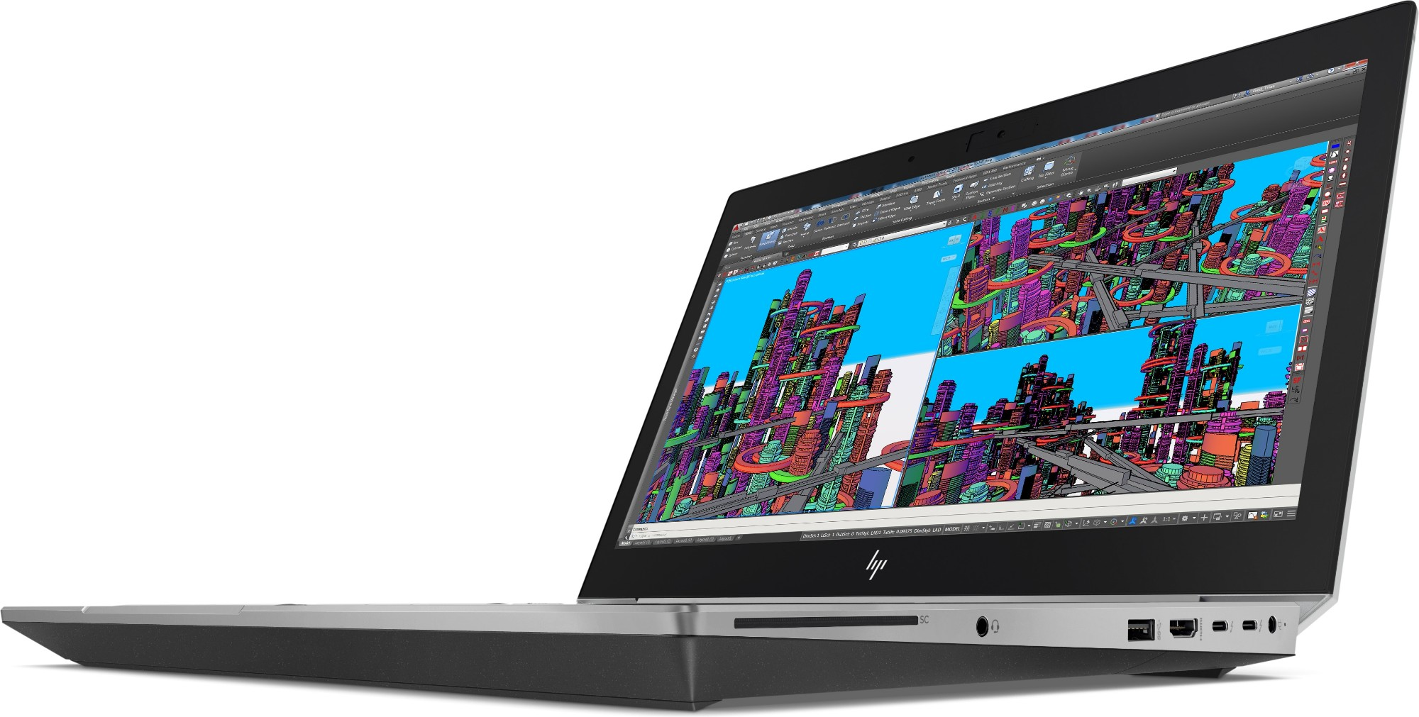 HP ZBook 15 G5 Silver Mobile workstation 39 6 cm (15 6