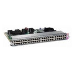Cisco WS-X4748-UPOE+E= L2 Gigabit Ethernet (10/100/1000) Power over Ethernet (PoE) 1U Silver network switch