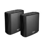 ASUS ZenWiFi AC (CT8) wireless router Tri-band (2.4 GHz / 5 GHz / 5 GHz) Gigabit Ethernet Black