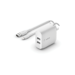 Belkin WCD001DQ1MWH mobile device charger Indoor White