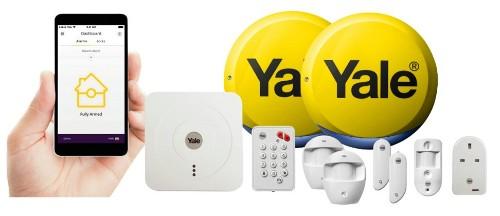 Yale SR-340 White security alarm system