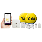 Yale SR-340 White security alarm system