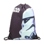 Star Wars Stormtrooper Face Gymbag, One Size, Black (CI080436STW)