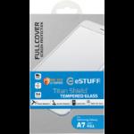 eSTUFF ES10213-FULL-BLACK Clear screen protector Galaxy A7 screen protector