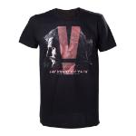 METAL GEAR SOLID V Phantom Pain Adult Male Box Cover T-Shirt, Small, Black (TSLC008MGS-S)