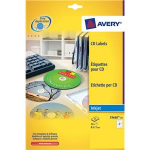 Avery CD Labels Super Size, 117 mm for Laser & Inkjet Printers