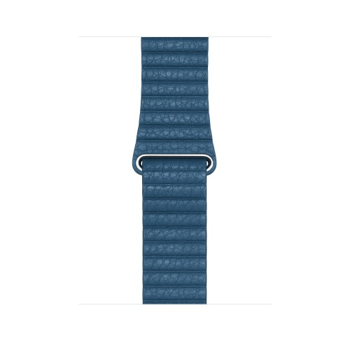 Apple MTHA2ZM/A smartwatch accessory Band Blue Leather