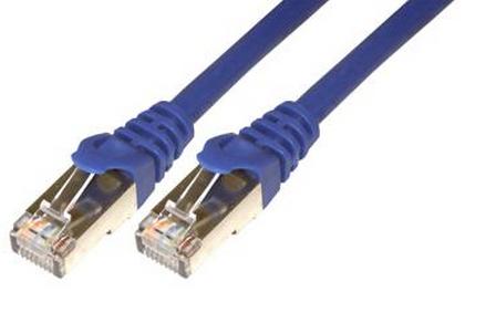 MCL FCC6BM-2.5M/B cable de red 2,5 m Azul