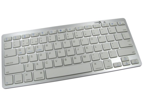 Cables Direct NLMS-KB001 Bluetooth Grey,White mobile device keyboard