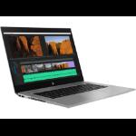 HP ZBook Studio G5 Silber Mobiler Arbeitsplatz 39,6 cm (15.6 Zoll) 1920 x 1080 Pixel Intel® Core™ i7 der achten Generation 16 GB DDR4-SDRAM 512 GB SSD Windows 10 Pro