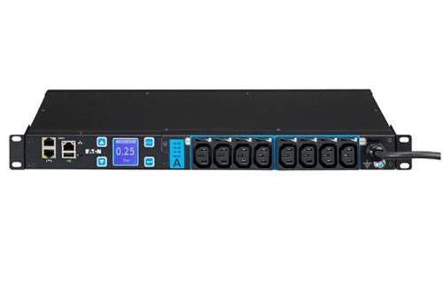 Eaton ESWH28 power distribution unit (PDU) 1U Black 8 AC outlet(s)