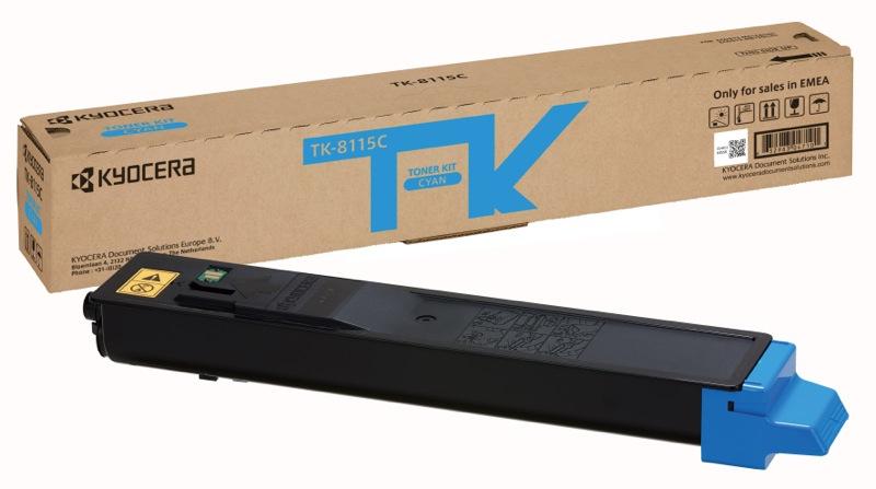 KYOCERA TK-8115C Original Cian 1 pieza(s)