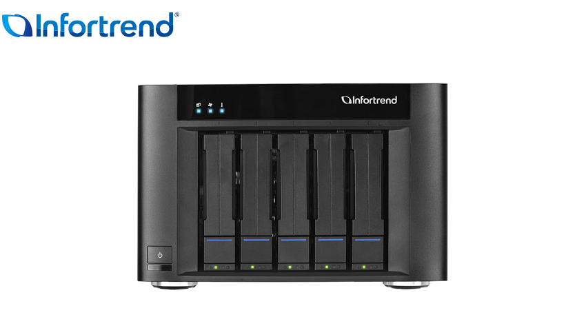 Infortrend SMB 5 bay Desktop GSe Pro 105