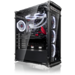 RAIJINTEK COEUS EVO TC Midi Tower Black, Transparent